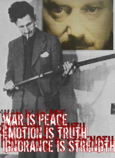 George Orwell hates crybabies